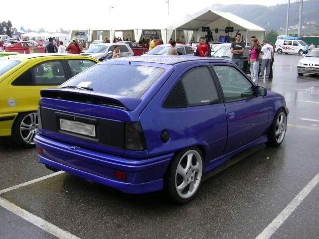Opel Kadett Gsi Tuning. historia opel kadett pata